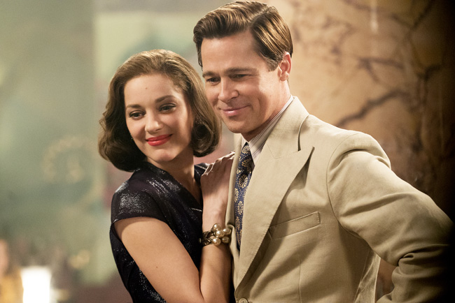 Allied How Brad Pitt Marion Cotillard Film Recreated Glamour Of