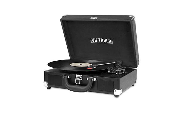 Victrola 3-Speed Bluetooth Suitcase Turntable