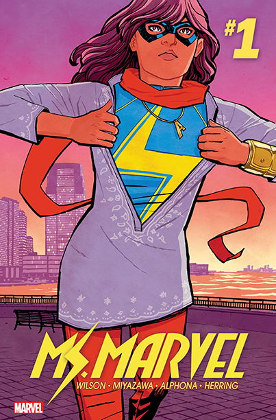 GALLERY: 10 Best Comic Books of 2016: Ms. Marvel by G. Willow Wilson (Marvel)