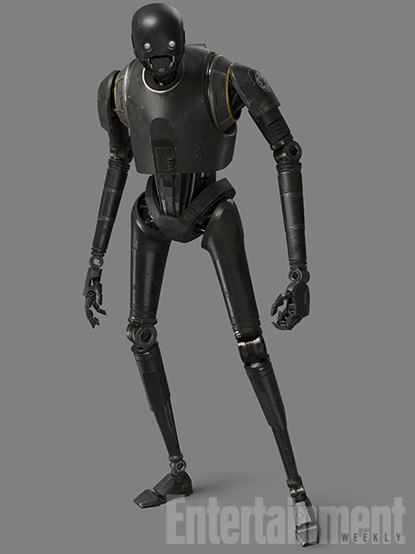 GALLERY: ROGUE ONE Star WarsDroids