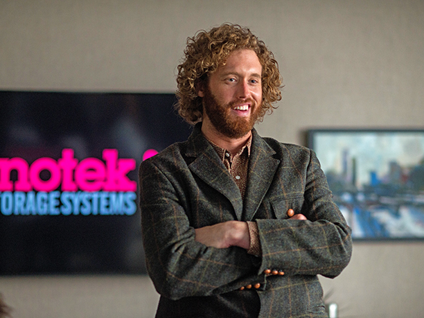 GALLERY: T.J. Miller as Clay Vanstone in OFFICE CHRISTMAS PARTY by Paramount Pictures, DreamWorks Pictures, and Reliance Entertainment