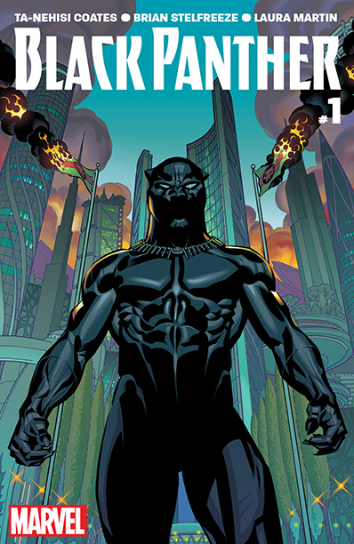 GALLERY: 10 Best Comic Books of 2016: Black Pantherby Ta-Nehisi Coates and Brian Stelfreeze (Marvel)