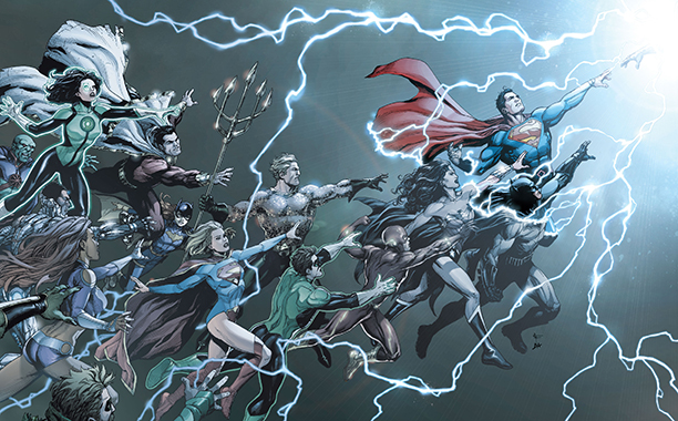 GALLERY: 10 Best Comic Books of 2016: DC Universe: Rebirth and Watchmen.Interior and Cover images