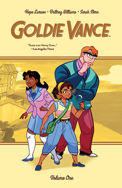 GALLERY: 10 Best Comic Books of 2016: Goldie Vanceby Hope Larson and Brittney Williams (Boom! Studios)