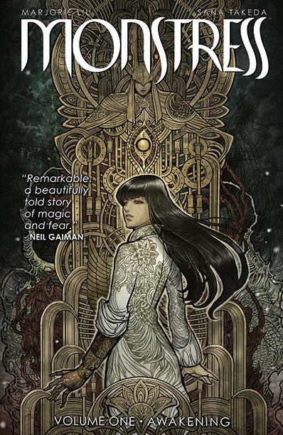 GALLERY: 10 Best Comic Books of 2016: MONSTRESS Volume 1 by Marjorie Liu & Sana Takeda Image Comics