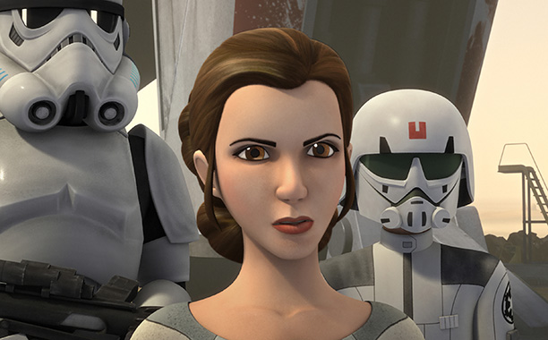 "GALLERY: 'Star Wars' Timeline: STAR WARS REBELS - ""A Princess on Lothal"" PRINCESS LEIA ORGANA"