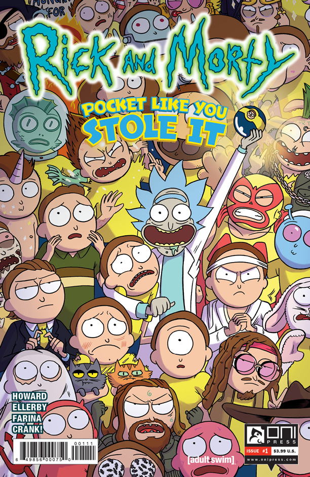 All Crops: Rick and Morty: Pocket Like You Stole It Cover