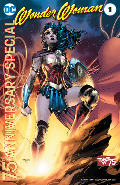 GALLERY: 10 Best Comic Books of 2016: Wonder Woman 75th Anniversary Special #1