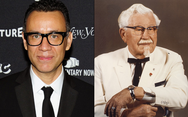 ALL CROPS: 603572830 Fred Armisen; Colonel Sanders