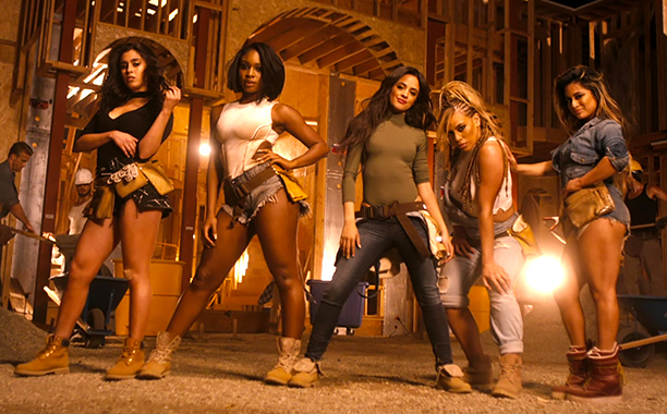 ALL CROPS: Fifth Harmony - Work from Home ft. Ty Dolla $ign (screen grab)