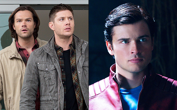 All Crops: Supernatural/Smallville Split
