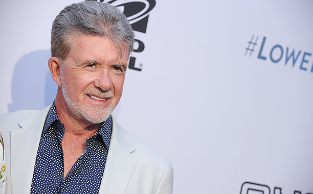 ALL CROPS: 597612566 Actor Alan Thicke attends the Comedy Central Roast of Rob Lowe at Sony Studios on August 27, 2016 in Los Angeles, California. (Photo by Jason LaVeris/FilmMagic)
