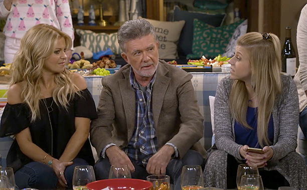 "ALL CROPS: Alan Thicke on Season 2 of ""Fuller House"""