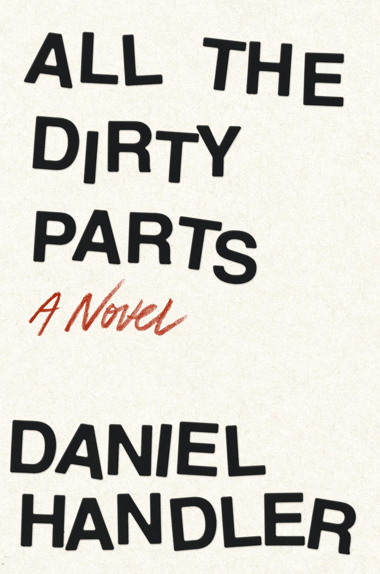 All the Dirty Parts (late August 2017)by Daniel Handler