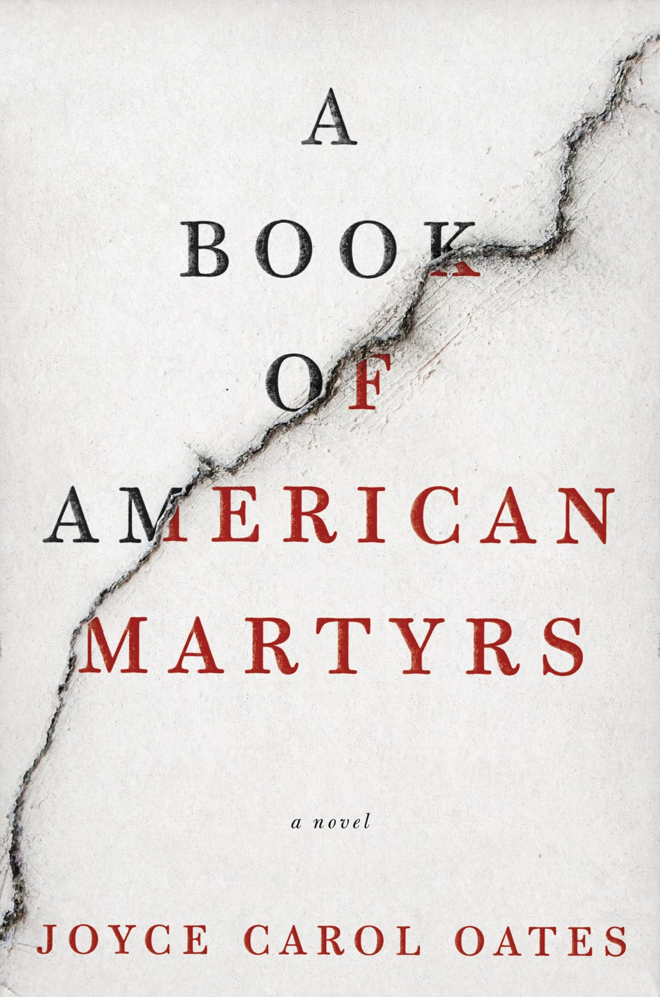 A Book of American Martyrs (2/7/2017)Joyce Carol Oates