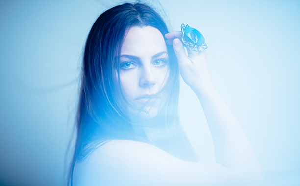 ALL CROPS: Amy Lee of the band Evanescence