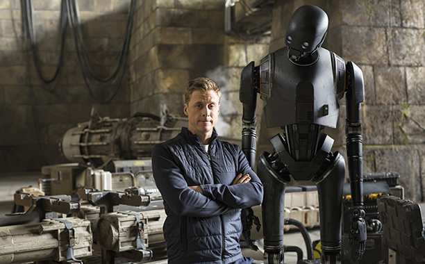 GALLERY: Meet the Rogues: Rogue One: A Star Wars Story (2016) Droids - actor Alan Tudyk who plays K-2S0