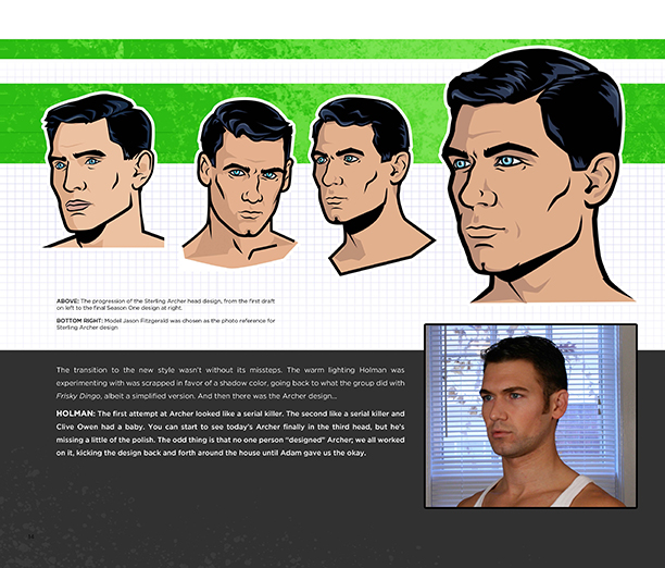 NO CROPS: Art of Archer for EW Page 3