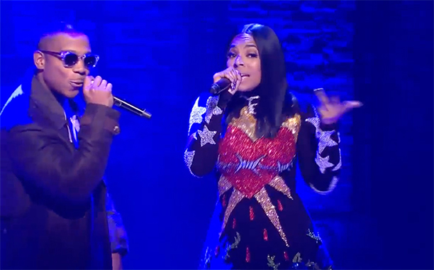 ALL CROPS: #Ham4Ham 12/1 -- The Hamilton Mixtape Performance - Ja Rule and Ashanti