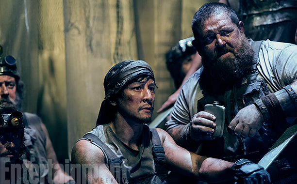 ALL CROPS: Daniel Wu as Sunny, Nick Frost as Bajie - Into the Badlands _ Season 2, Episode 2 - Photo Credit: Antony Platt/AMC
