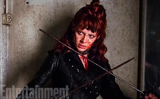 NO CROPS: Emily Beecham as The Widow - Into the Badlands _ Season 2, Episode 1 - Photo Credit: Antony Platt/AMC
