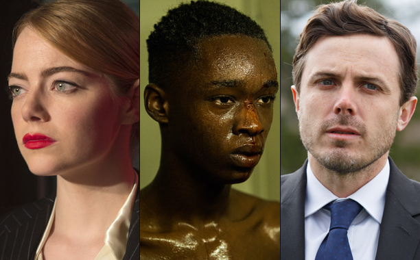 ALL CROPS: La La Land, Moonlight, Manchester by the Sea