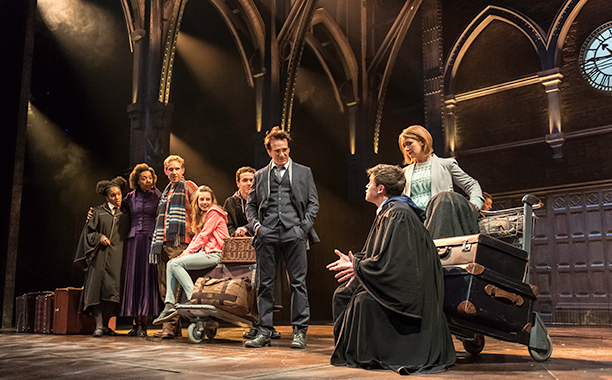 ALL CROPS: Harry Potter and the Cursed Child (2016) The cast of Harry Potter and the Cursed Child