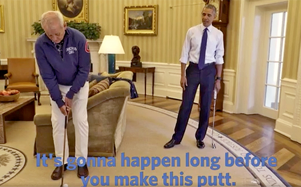 ALL CROPS: So Bill Murray walks into the Oval Office screengrab