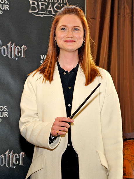 GALLERY: Bonnie Wright attends the Harry Potter and Fantastic Beasts Exhibit launch at Warner Bros. Studio Tour Hollywood at Warner Bros. Studios on December 7, 2016 in Burbank, California. (Photo by John Sciulli/Getty Images f