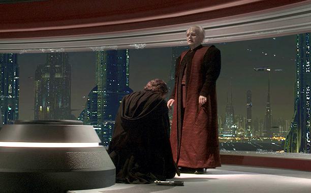 GALLERY: 'Star Wars' Timeline: Star Wars: Episode III - Revenge of the Sith Hayden Christensen and Ian McDiamid