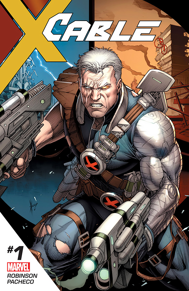 NO CROPS: Cable Cover CR: Marvel