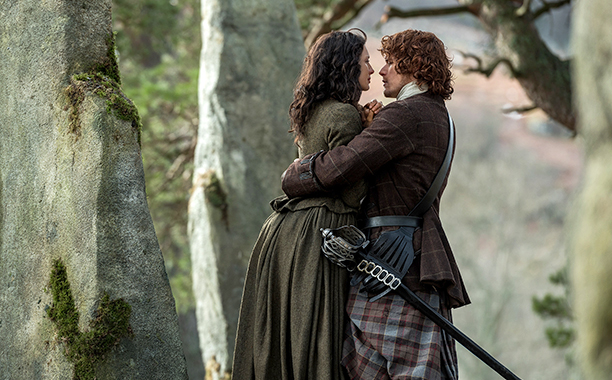 GALLERY: TV's Time Obsession: ALL CROPS Outlander Season 2, Episode 13 Air Date: Air date: July 9, 2016 Pictured: Caitriona Blafe, Sam Heughan