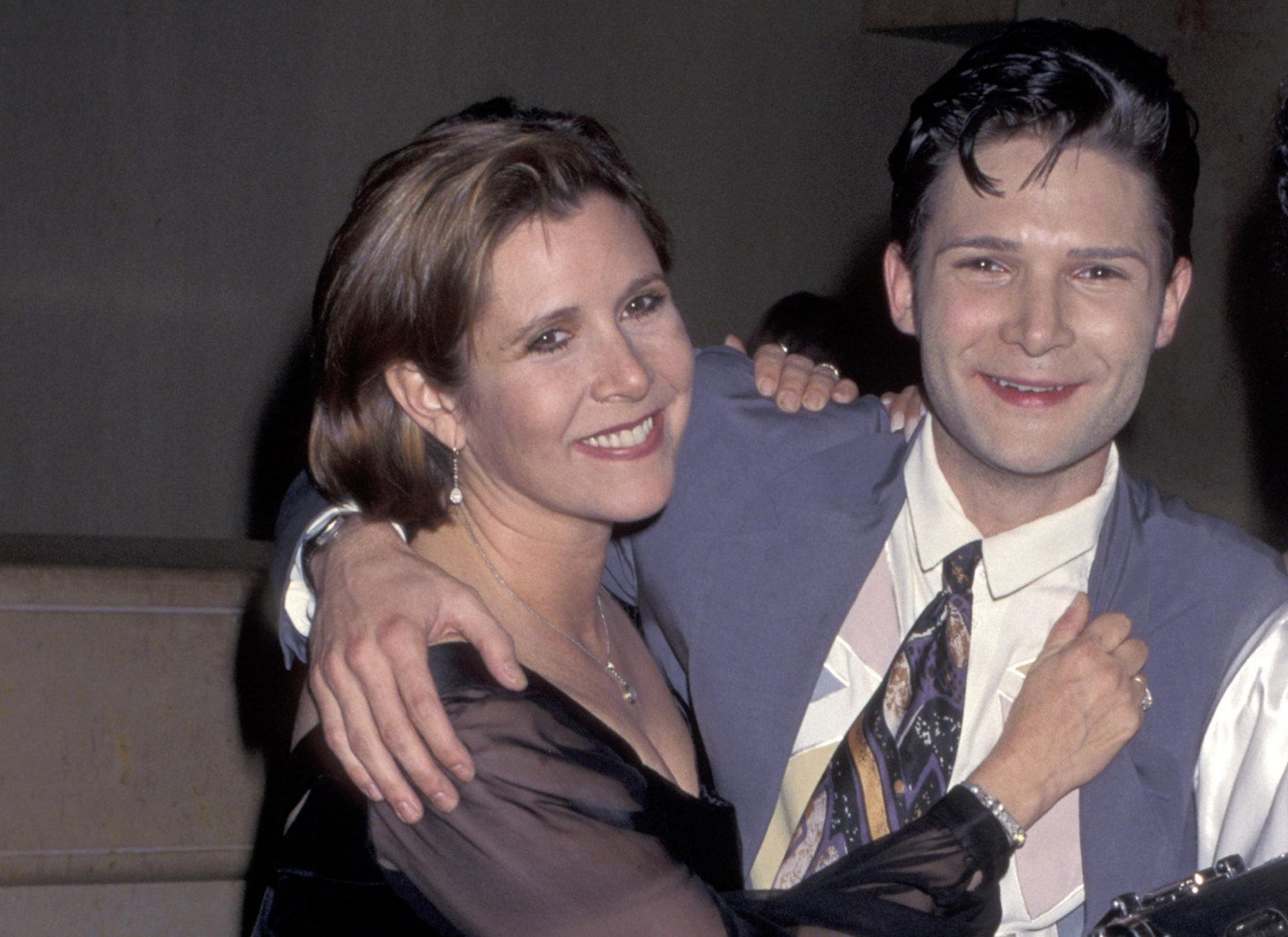 carrie-fisher-and-corey-feldman