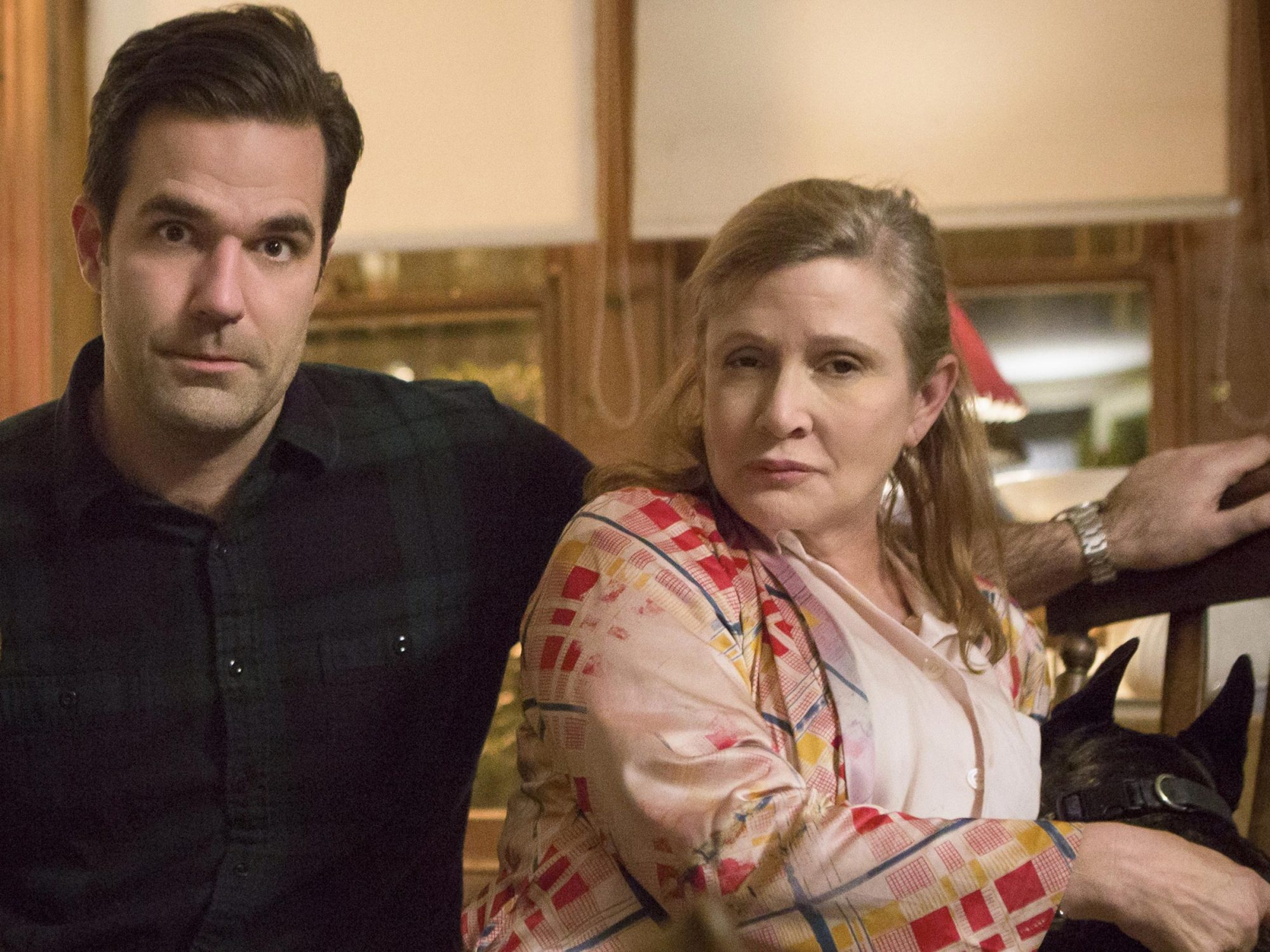 carrie-fisher-rob-delaney