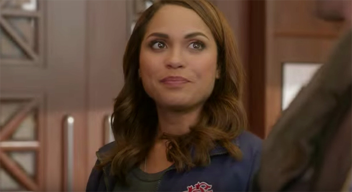 SCREENSHOT: Monica Raymund as Gabriela Dawson in episode 100 of 'Chicago Fire'