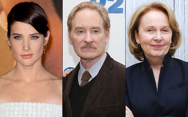 ALL CROPS: Cobie Smulders (616035878), Kevin Kline (617639768), and Kate Burton (626557170) split