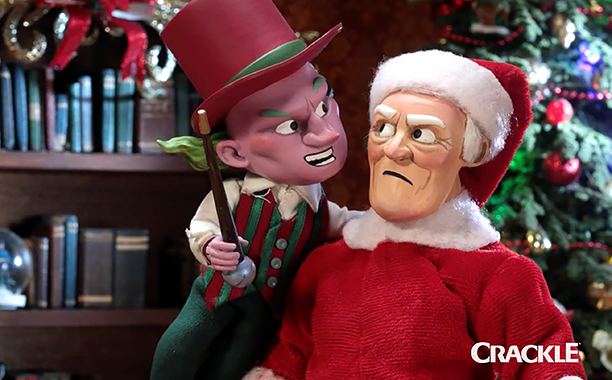 ALL CROPS: Super Mansion: War on Christmas (screen grab) CR: Crackle