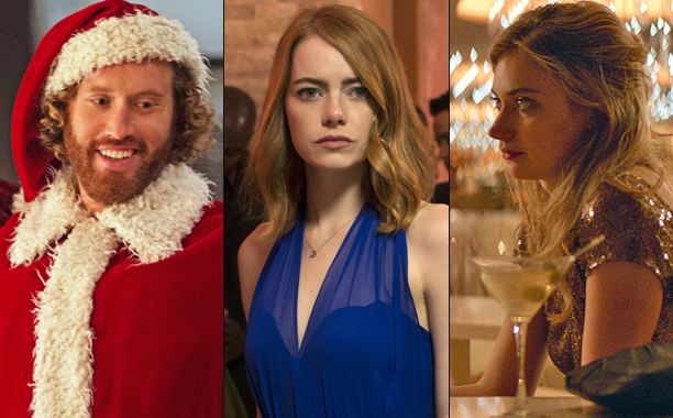 ALL CROPS: Office Christmas Party / La La Land / Frank & Lola