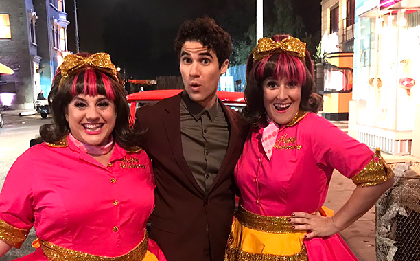 ALL CROPS: Darren Criss Twitter Photo CR: Darren Criss/Twitter