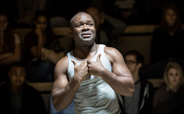 ALL CROPS: David Oyelowo in OTHELLO at New York Theatre Workshop - Photo by Chad Batka