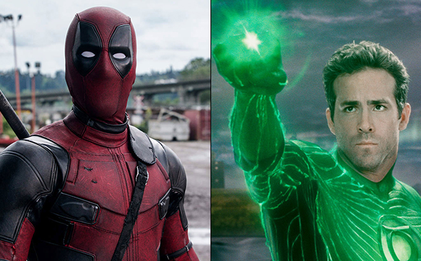 ALL CROPS: Ryan Reynolds - Deadpool/Green Lantern