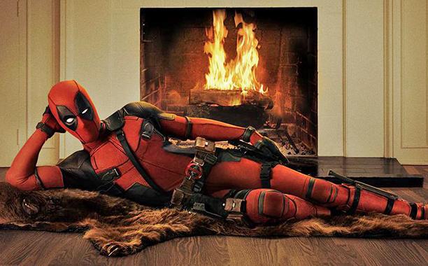 ALL CROPS: Ryan Reynolds dressed as Deadpool