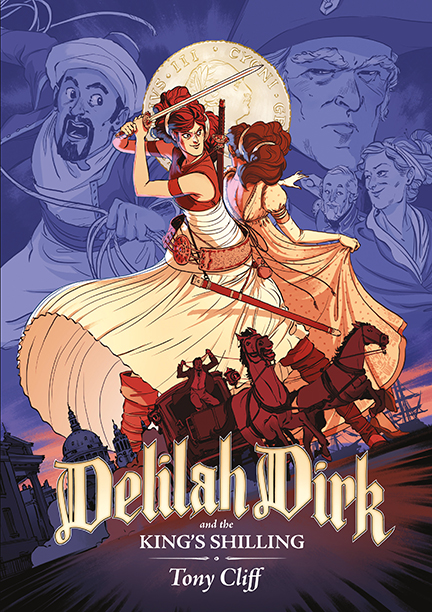 GALLERY: Best YA Books of 2016: Delilah Dirk and the King's Shilling by Tony Cliff
