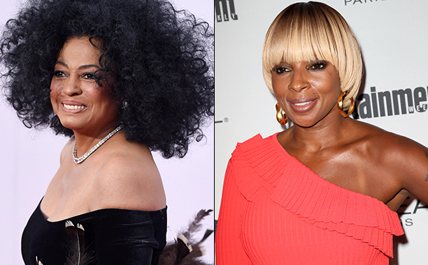 ALL CROPS: Diana Ross (460122740) & Mary J. Blige (607001642) split