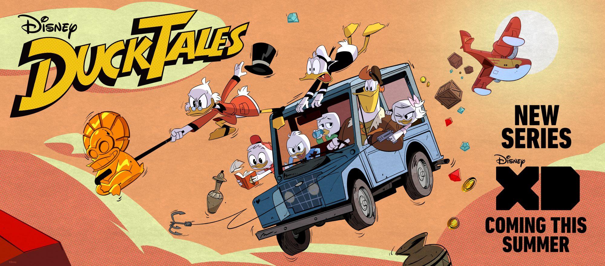 TV: DuckTales billboard