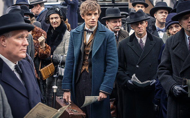 ALL CROPS: Fantastic Beasts and Where to Find Them (2016) (center) EDDIE REDMAYNE as Newt Scamander