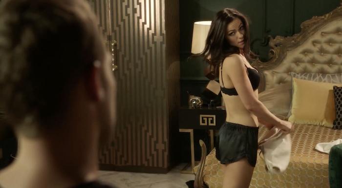 SCREENSHOT: Eleanor on 'The Royals' season 3, episode 2