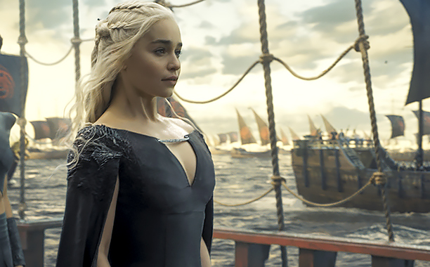 ALL CROPS: Critics Choice Best Drama: Game of Thrones The Winds of Winter Season 6, Episode 10 Air Date: June 26, 2016 Emilia Clarke (CR: courtesy of HBO)
