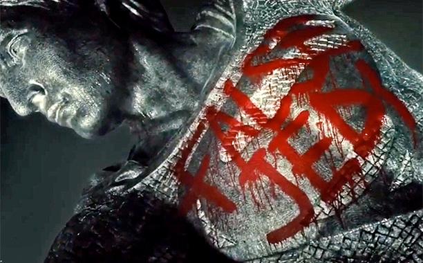 ALL CROPS: Zack Snyder Justice League Star Wars Trailer: Dark Side Knight Vs. Super Jedi screengrab