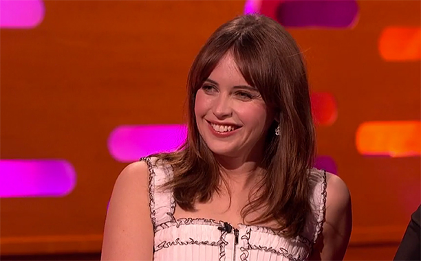 ALL CROPS: Felicity Jones on Graham Norton - 12/16/16